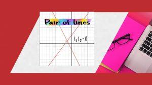 Pair of lines